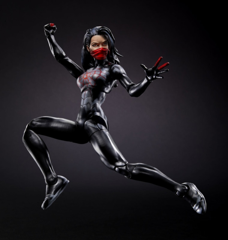 Earlier this year, Hasbro released its first ever figure of Cindy Moon, also known as Silk