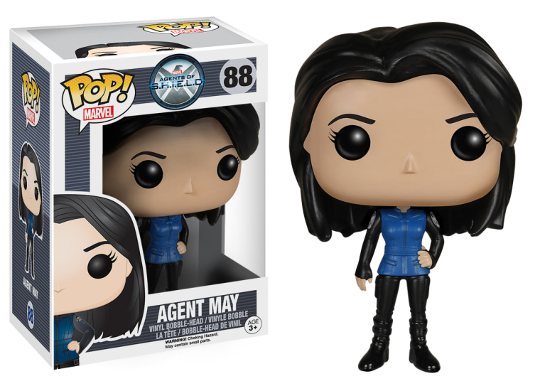 Agent of SHIELD's Agent Melinda May in Funko Pop form.