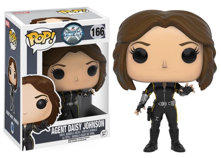Agent of SHIELD's Agent Daisy Johnson in Funko Pop form.