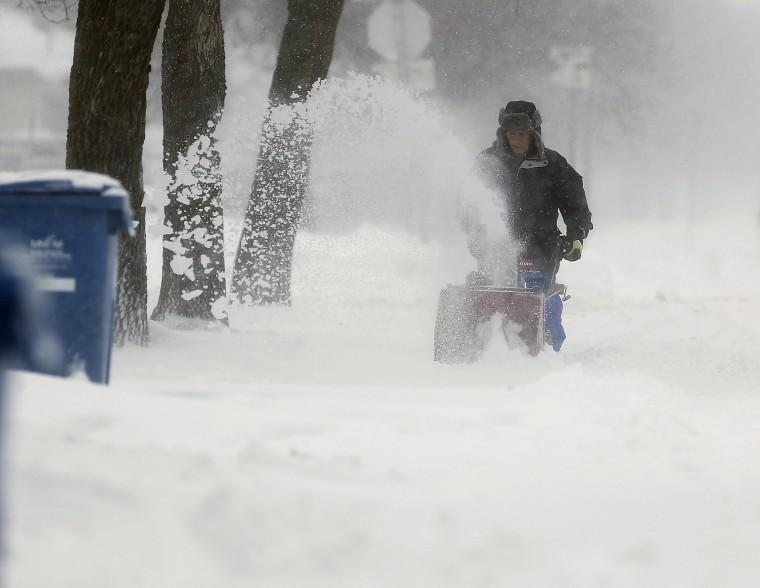Image: Winnipeg snow