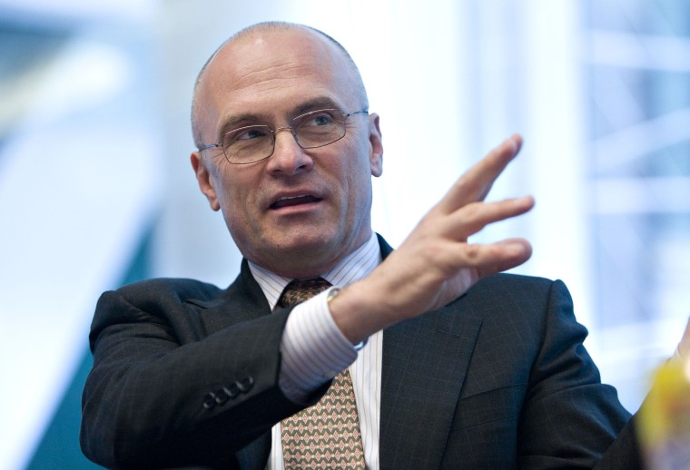 Andrew Puzder, chief executive officer of CKE Restaurants In