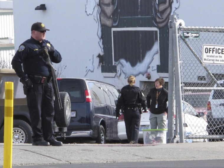Image: Reno high school shooting scene