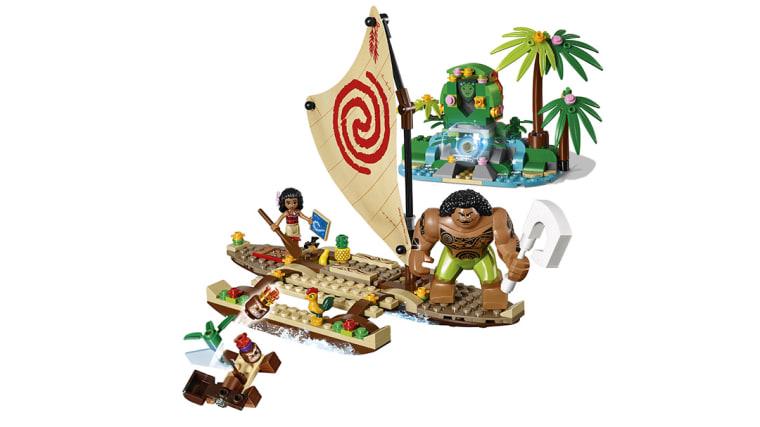"""A LEGO set based on the Disney film """"Moana."""""""