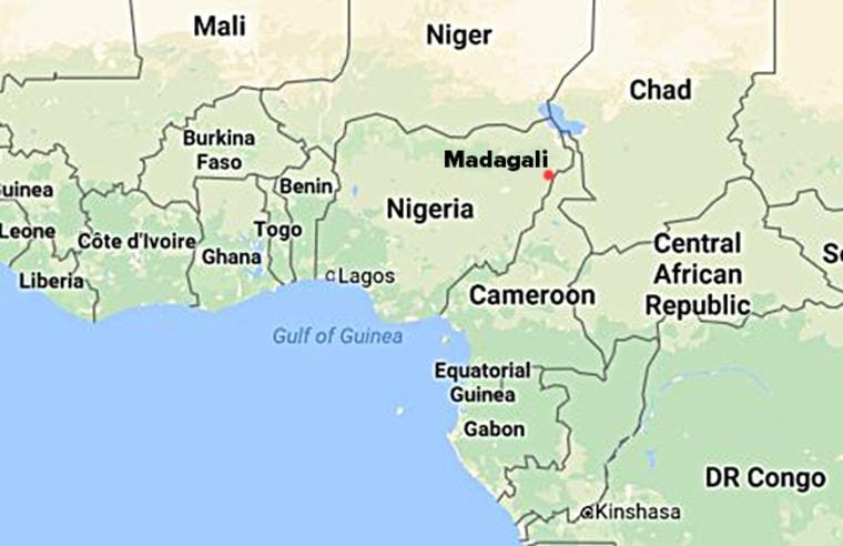 Image: Nigeria map