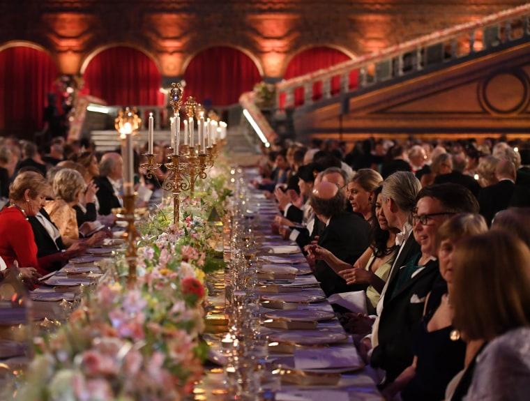 Image: Nobel Prize Banquet 2016, Stockholm