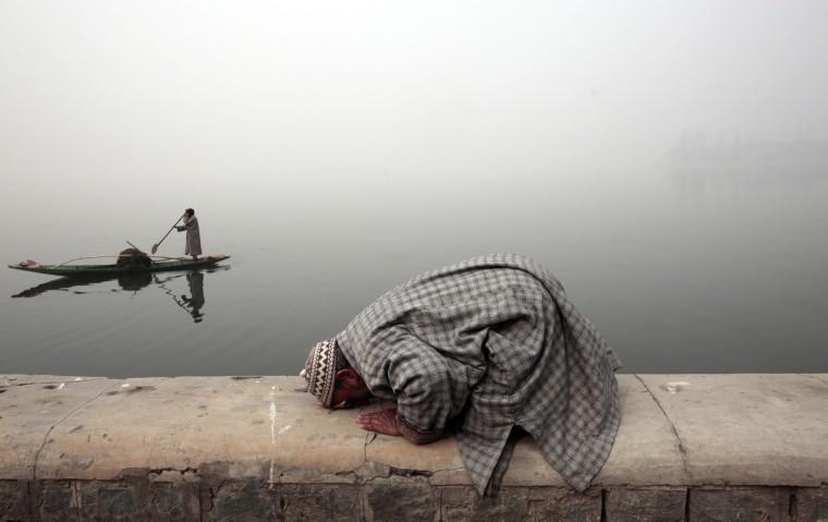 Image: Cold weather in Srinagar