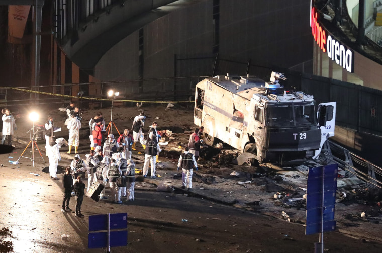 Image: Explosion in Istanbul