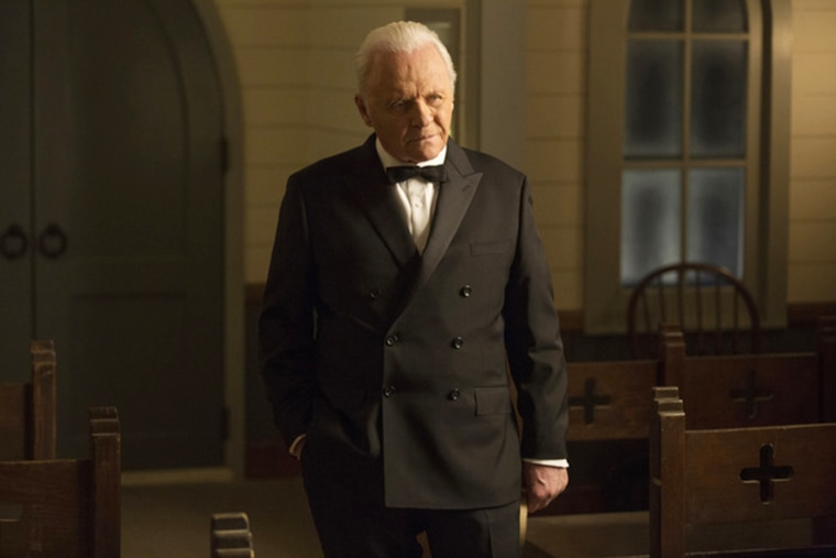 "Anthony Hopkins in ""Westworld"""