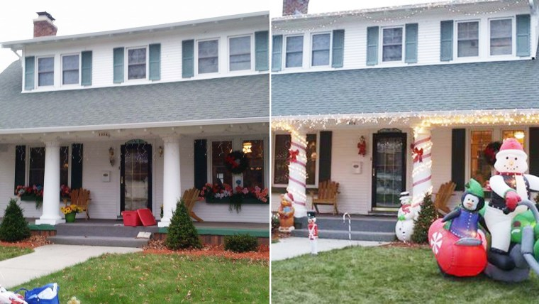 Christmas home makeover