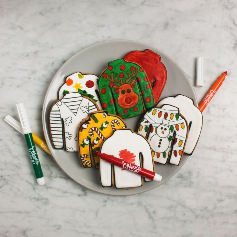 Color Me! Cookies