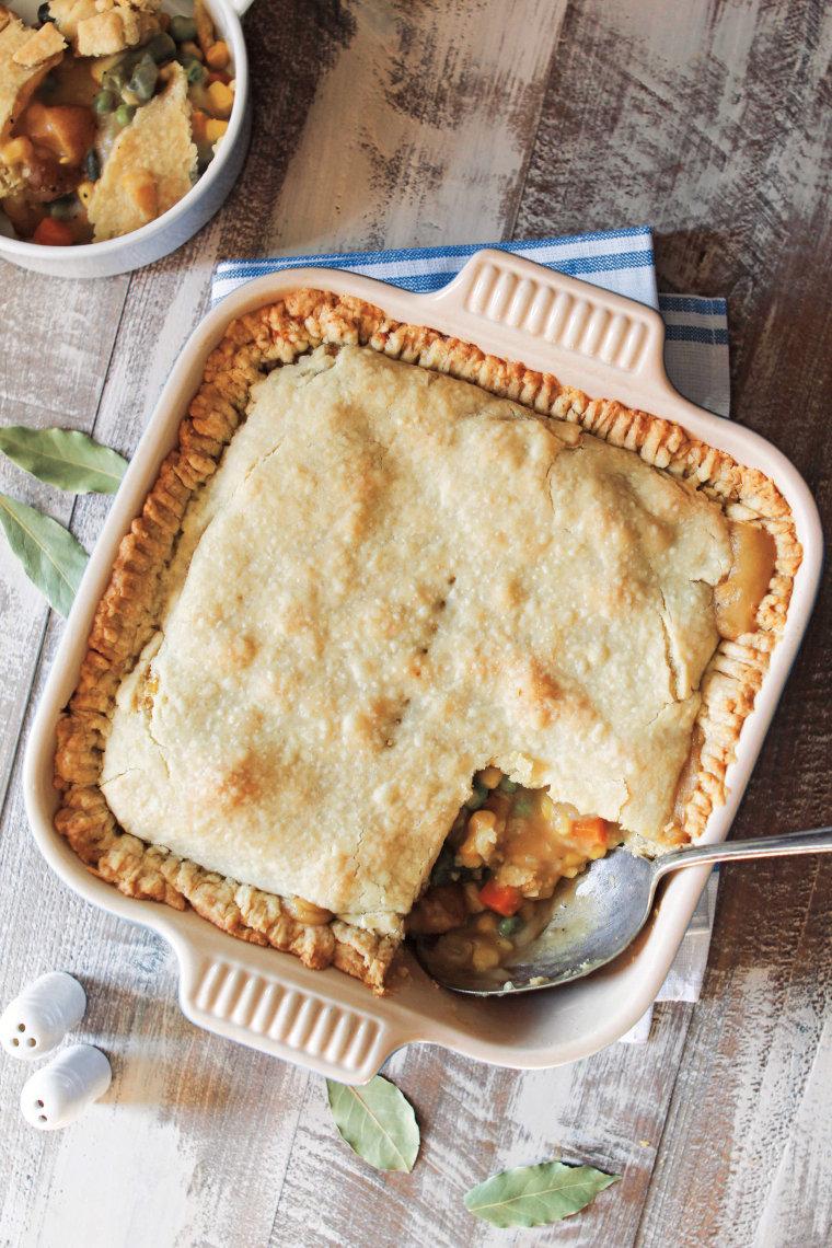 Vegan Vegetable Pot Pie recipe