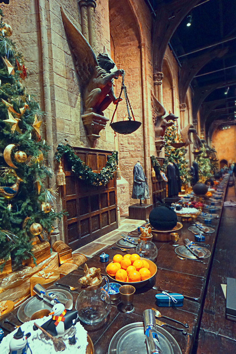 Hogwarts Christmas Dinner
