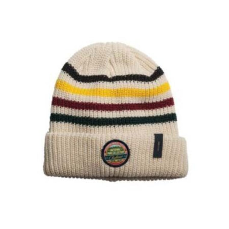 This soft acrylic knit hat even has a signature Pendleton Park Collection patch. So cute!