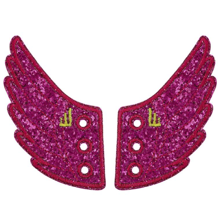 Fuschia sparkle wings