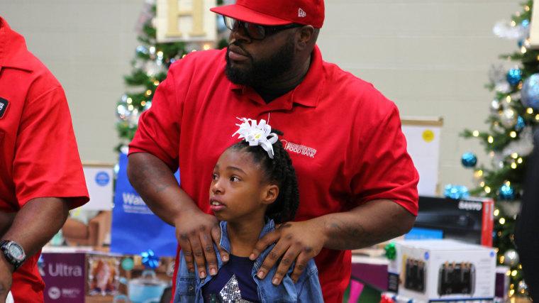 Costello Robinson and his daughter