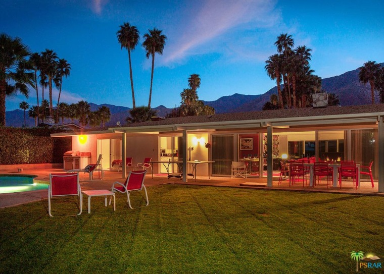 Walt Disney's Palm Springs home