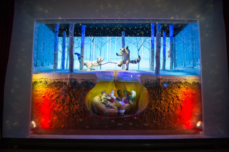 Lord & Taylor department store holiday windows.