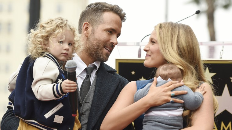 Ryan Reynolds, Blake Lively, James Lively