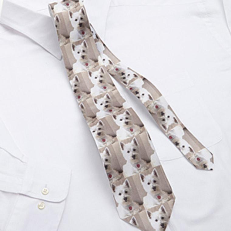 Custom pet tie