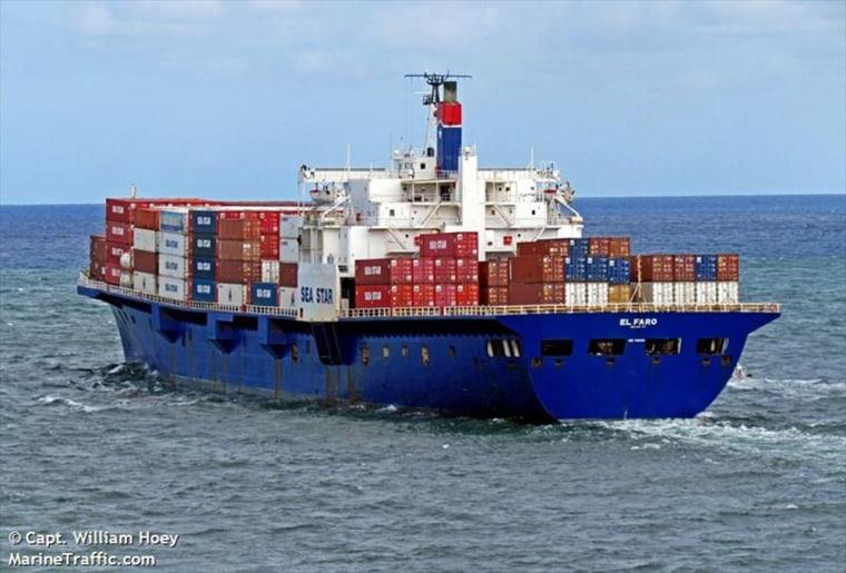 The cargo ship El Faro.