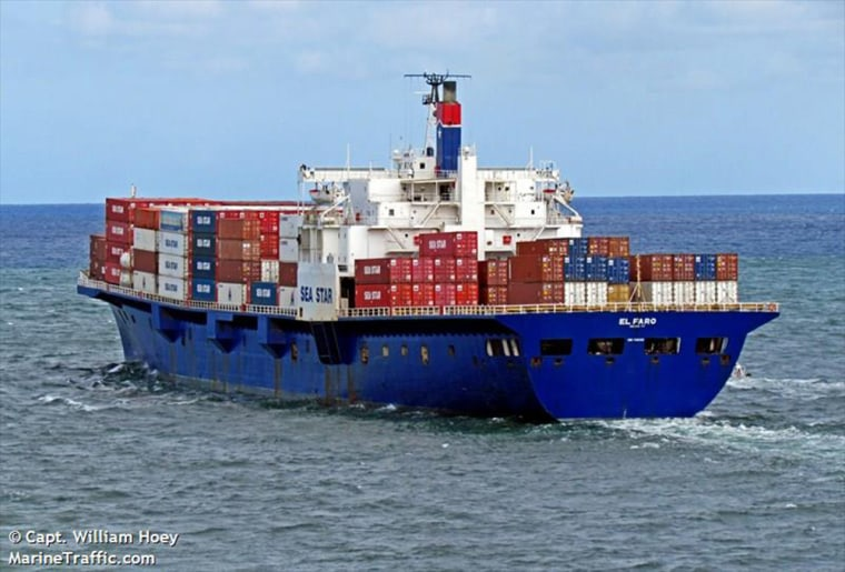 The cargo ship El Faro