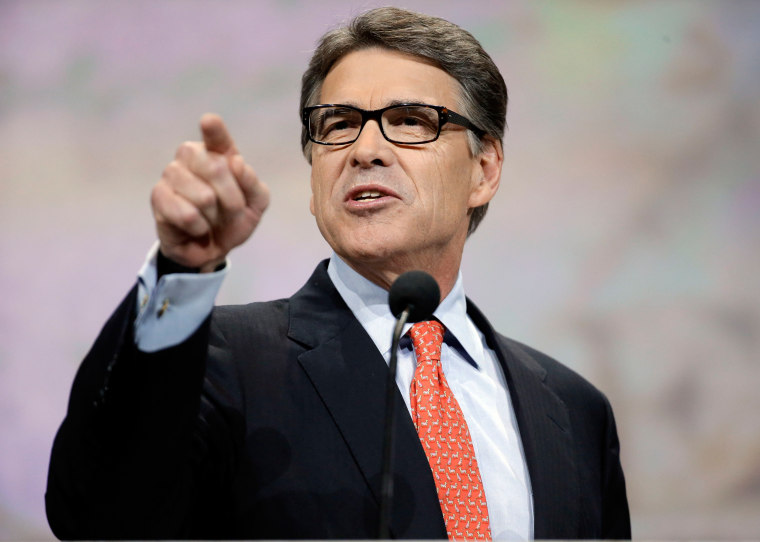 Skeptics Rip Rick Perry as Trump's Pick to Lead Department of Energy