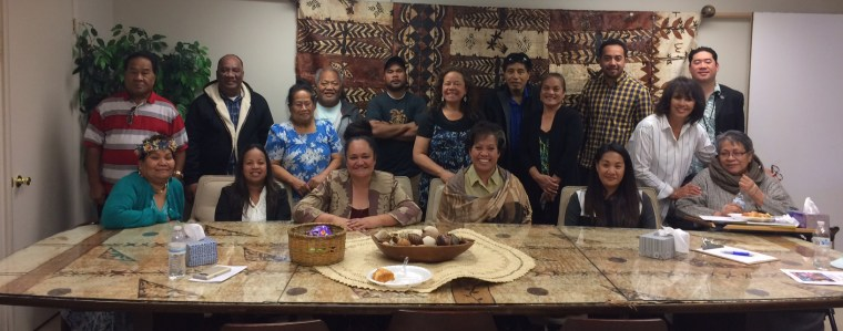 Faculty, staff, and student members of the University of Utah's Pacific Islander community.