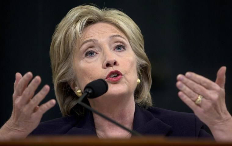 IMAGE: Hillary Clinton testifies at Benghazi hearing