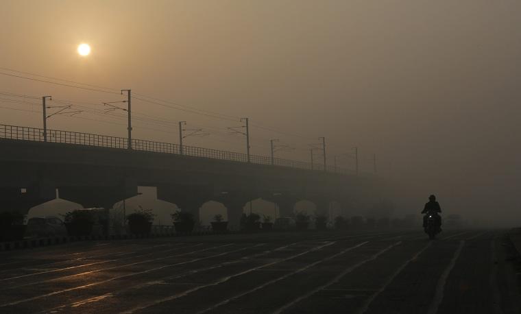 Image: Pollution in New Delhi