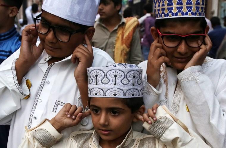 Image: Prophet Muhammad birthday celebrations in Mumbai