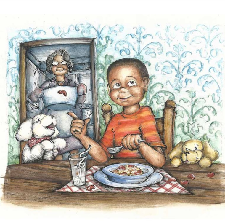 """Though Richards has found great success through her work in the corporate world, her ties to her family is what inspired her to be creative. """"Rice and Rock"""" by Sandra L. Richards. Illustrated by Megan Kayleigh Sullivan."""