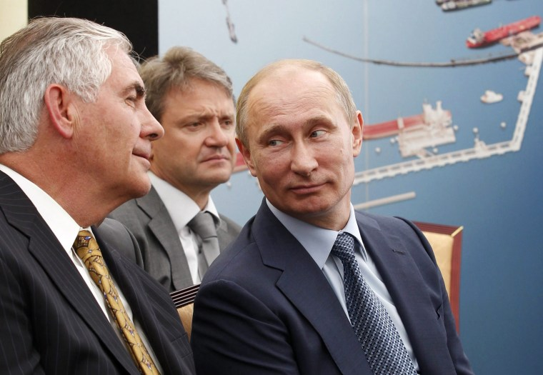 Image: Exxon Mobil CEO Tillerson tipped as US Secretary of State