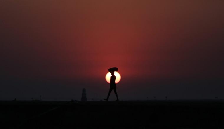 Image: Indian fisherman from Koli community