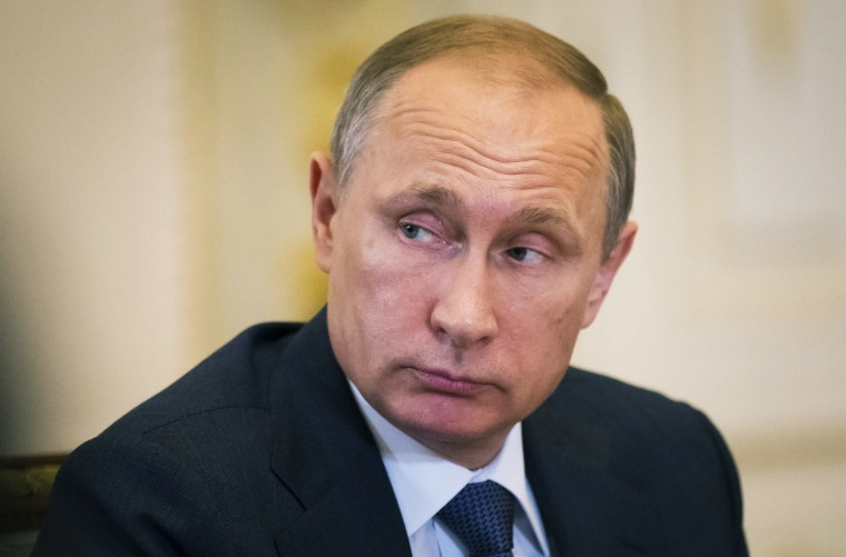 Image: Russian President Vladimir Putin on June 18, 2015.