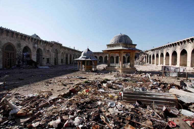 Image: From the Files: TIMELINE - The battle for Aleppo