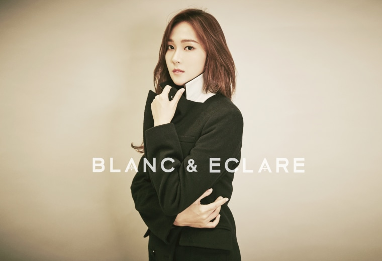 K-pop singer Jessica Jung's fashion line, Blanc & Eclare, recently opened its flagship store in New York's SoHo.