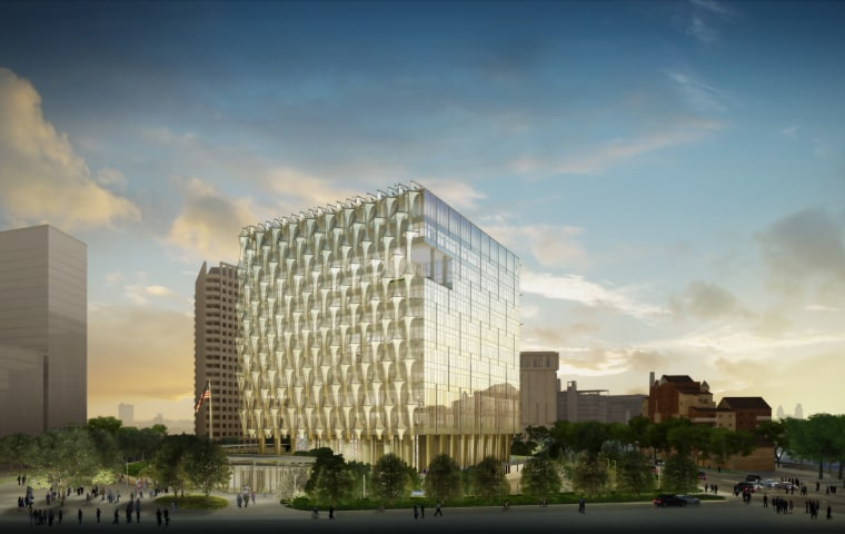 Image: New U.S. Embassy in London