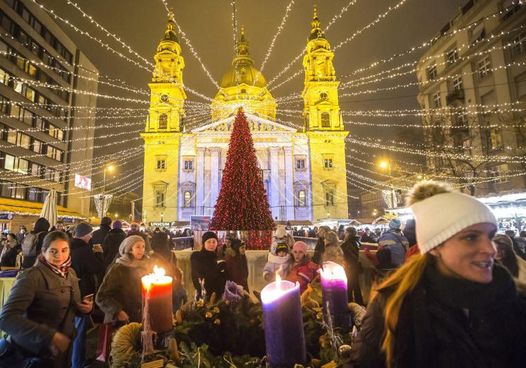 Image: Christmas market in Budapest