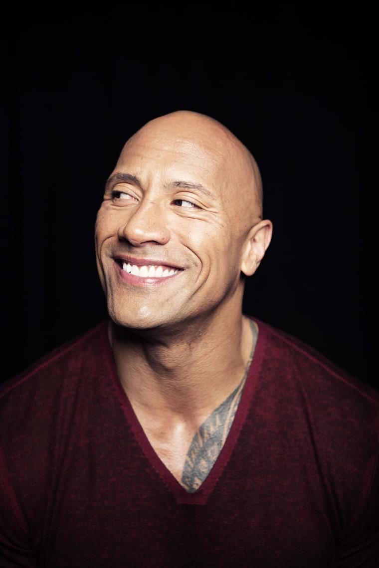 "IMAGE: Dwayne ""The Rock"" Johnson"