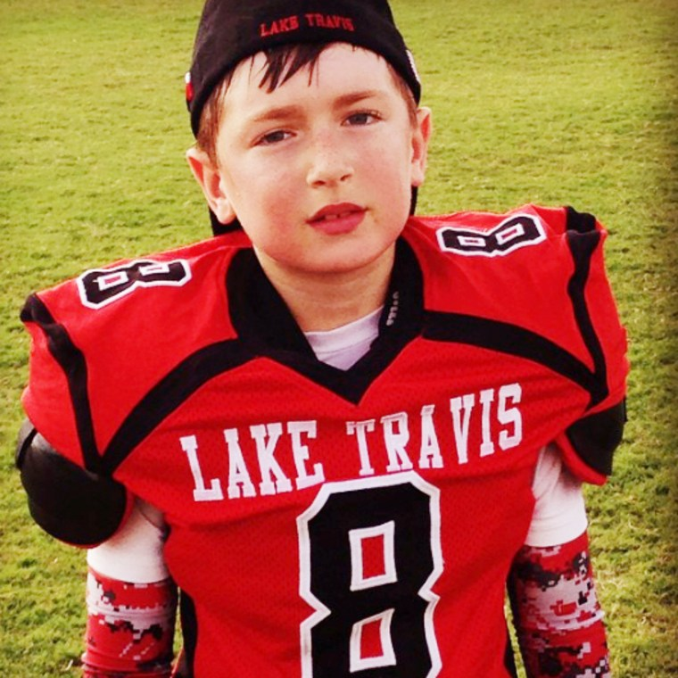Kim Copeland's son Brodie, she lost her son and husband in the Nice, France terror attack.