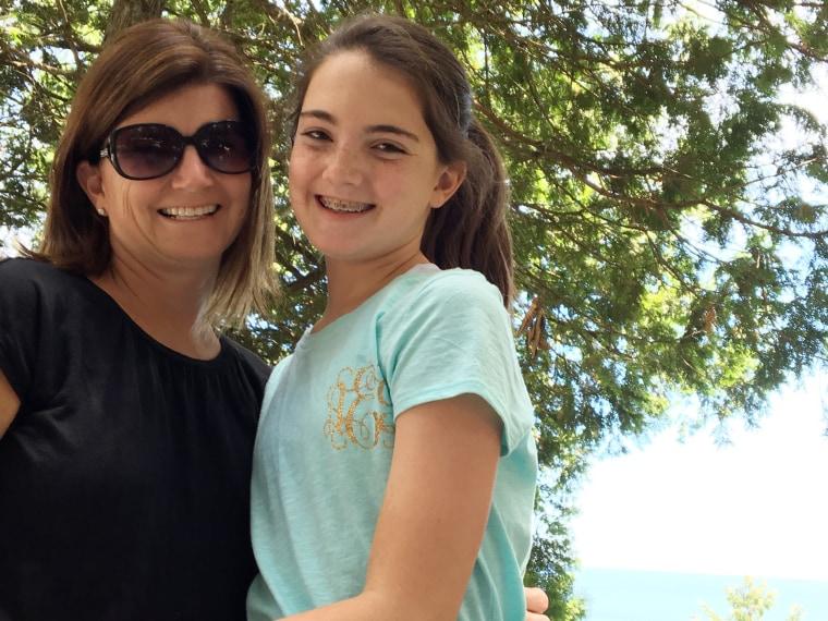 13-year-old girl named Amanda Eshelman, who can hear again thanks to a cochlear implant.