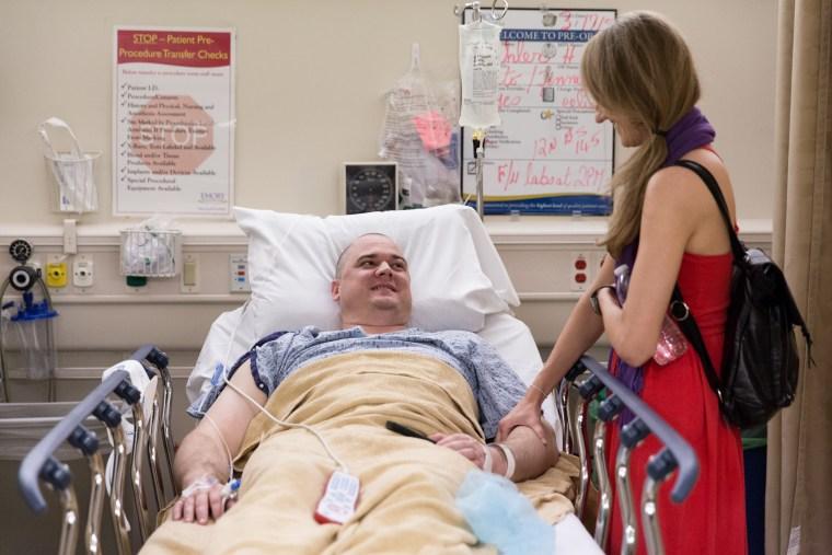 Jenna and Josh Buehler's cancer journey.