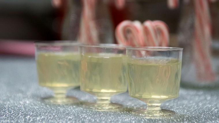 Champagne Jello Shots