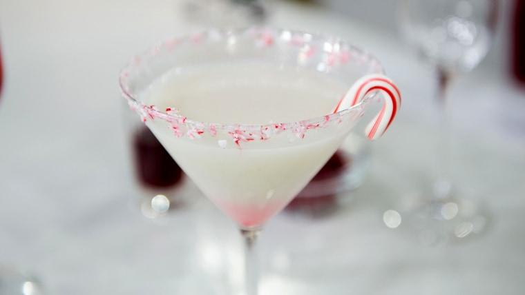 Peppermint Martini (Peppermint-ini)