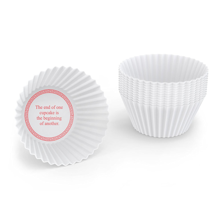 Reusable Fortune Cupcake Baking Cups