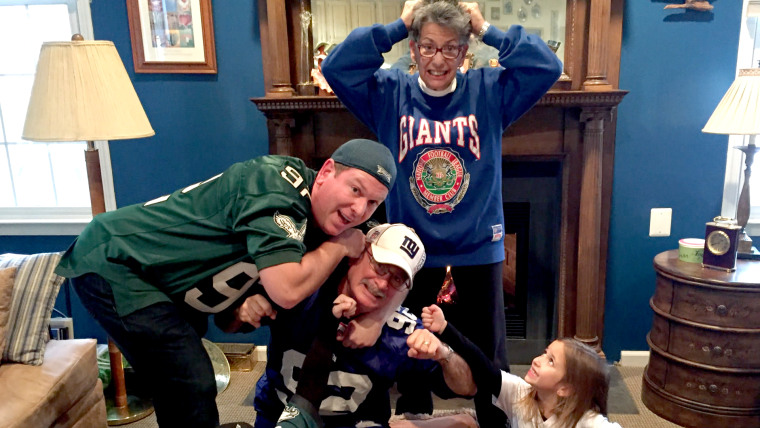 Families who root for rival sports teams