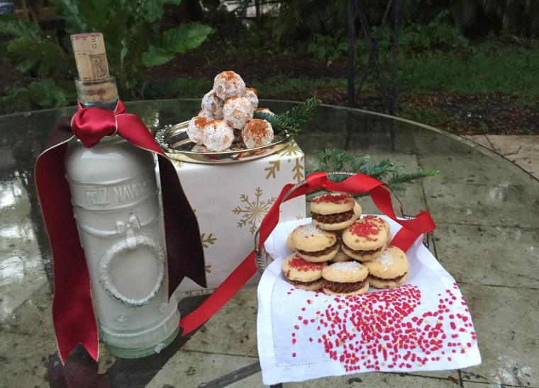 Coquito, Mexican Rum Balls and Alfajores by Jacqueline Kleis.
