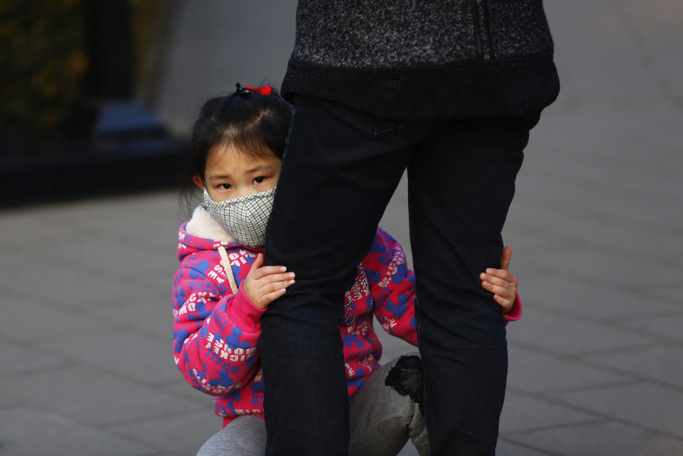 Image: Air pollution in Beijing