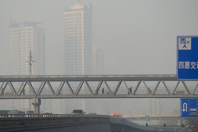 Image: CHINA-POLLUTION