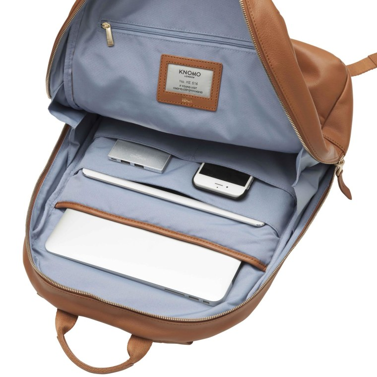 """The Knomo Beaux backpack is large enough for all your gadgets, even a 14"""" laptop."""